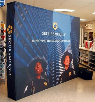 PU015 - Custom Pop-Up Trade Show Booth for Service & Trade Organizations