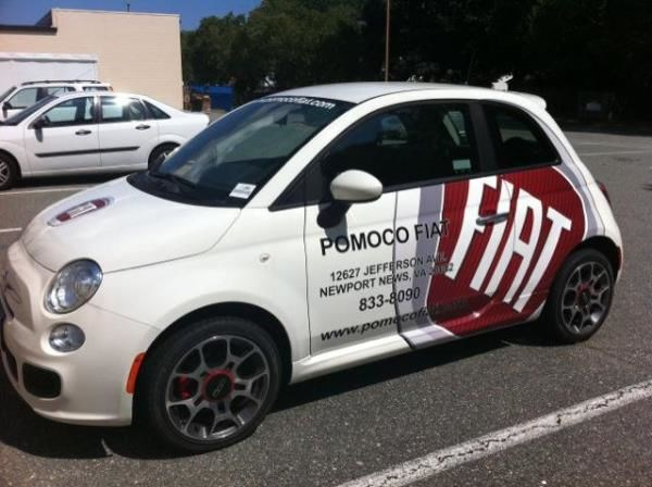 PART107 - Custom Partial Wrap for Auto Dealerships & Services