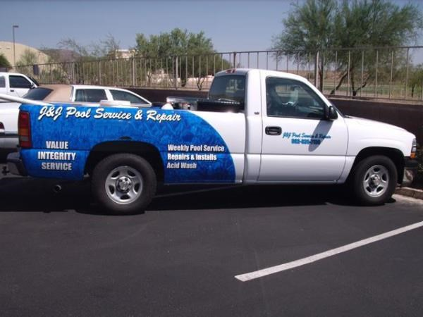 VL236 - Custom Vehicle Lettering for service & Trade Organizations