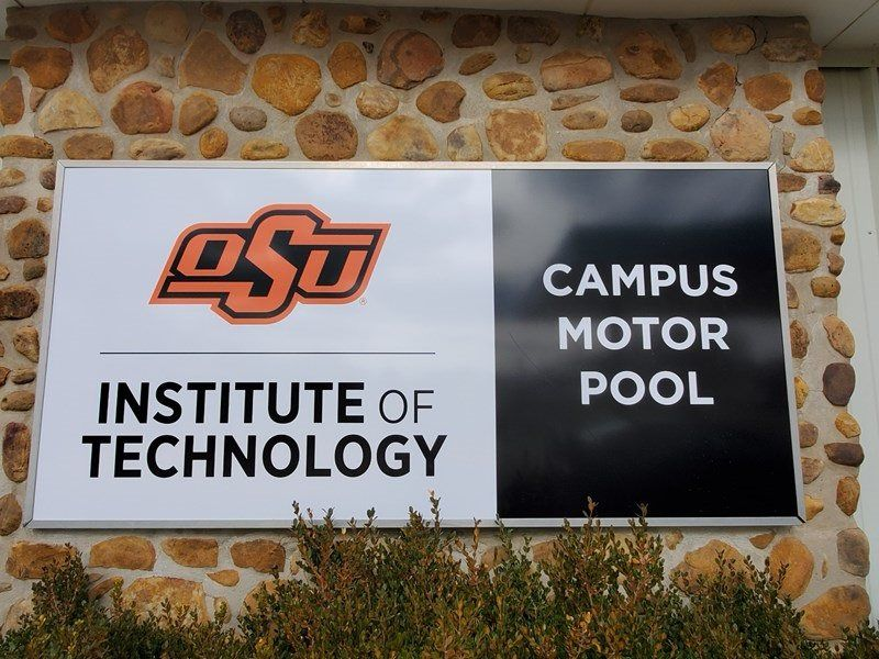 Education Building sign