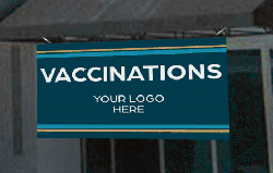 Banners for your Vaccination Distribution Efforts from Image360